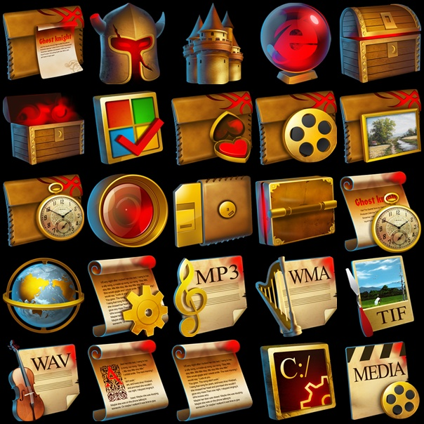 Colección Iconos Medievales