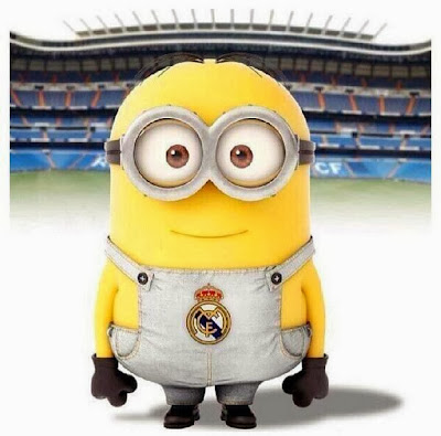 Minion del Real Madrid - Futbol Parodia