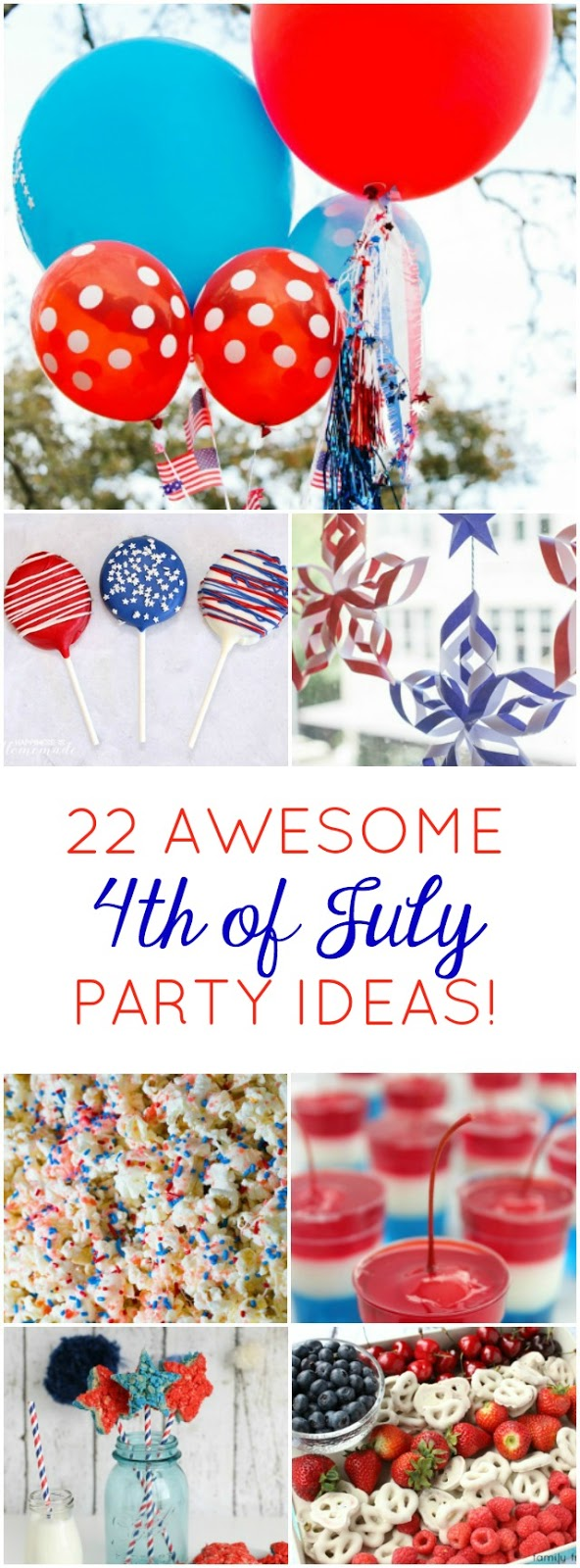 Such cute ideas! Try a couple of these simple patriotic crafts and recipes to make your 4th of July extra special!