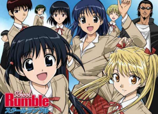 Anime Mirip Nisekoi Terbaik - School Rumble
