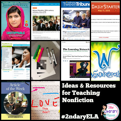 Most English curriculum is heavy on fiction, but there are endless connections to be made with nonfiction topics that will be just as engaging for your students. In this #2ndaryELA Twitter chat, middle and high school English Language Arts discussed nonfiction's role in the curriculum, types of nonfiction, resources for teaching nonfiction, and students' favorites. Read through the chat for ideas to implement in your own classroom.