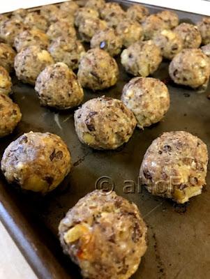 Sausage & Lentil Meatballs