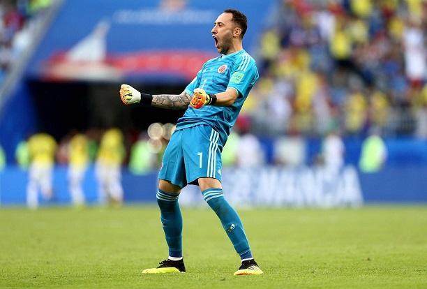 David Ospina thủ môn mang áo số 1 Colombia