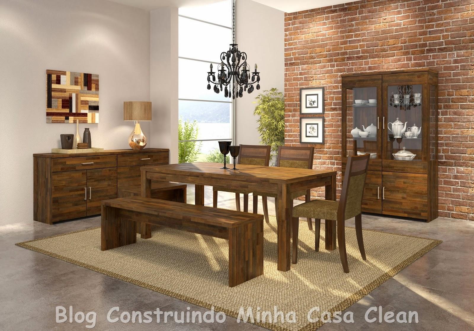 Moveis Para Sala De Jantar Madeira ~ Construindo Minha Casa Clean 35 Cristaleiras Lindas na Decoração!