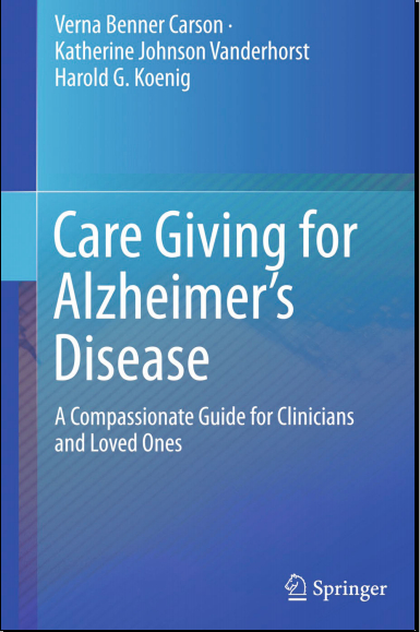 Care Giving for Alzheimer's Disease (2015) [PDF]