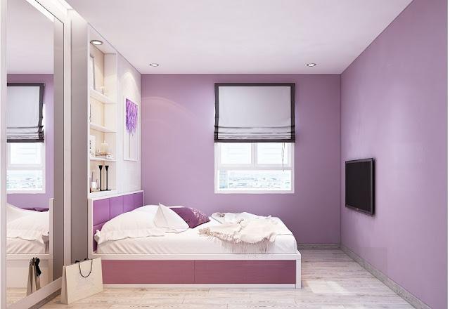 Mẫu thiết kế nội thất chung cư 67m2 sang trọng, tiện nghi - H5