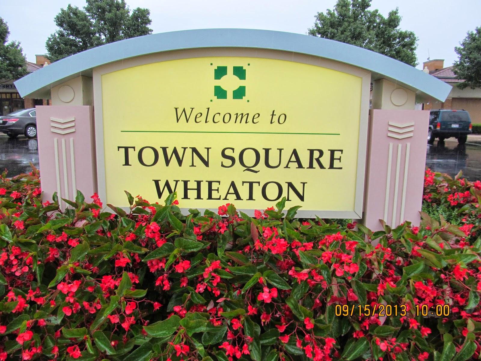 Trip to the Mall: Town Square Wheaton- (Wheaton, IL)