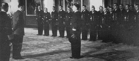 18 October 1939 worldwartwo.filminspector.com Guenther Prien Adolf Hitler U-47