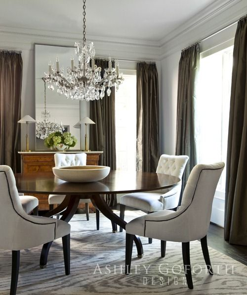 25 Beautiful Neutral Dining Room Designs: South Shore Decorating Blog