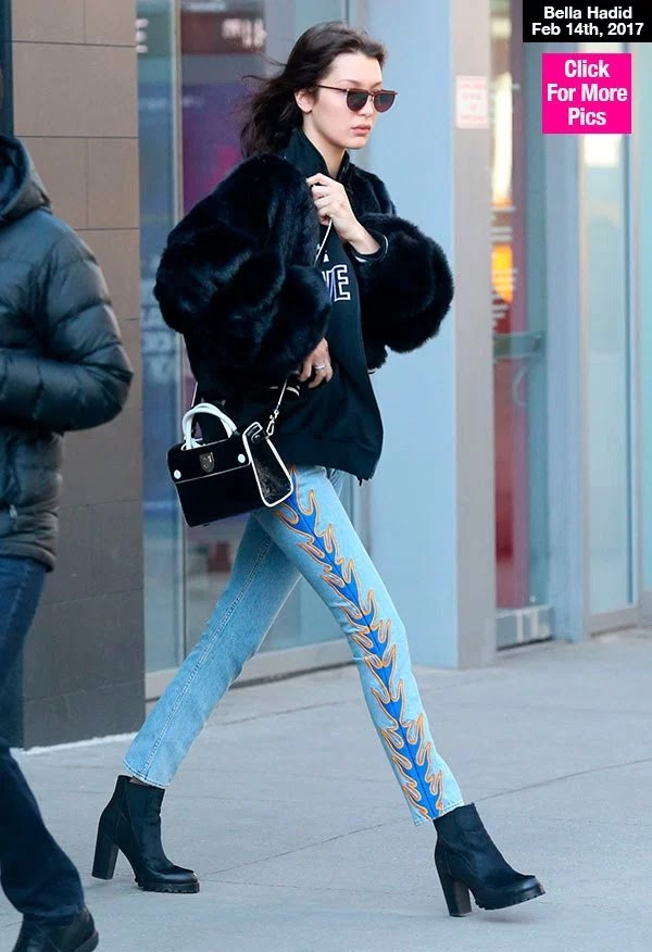 Bella Hadid Looks Miserable Walking Alone After Selena & The Weeknd Spotted Kissing