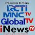 Frekuensi Terbaru RCTI, MNCTV, Global TV dan iNews TV Format MPEG2 dan MPEG4