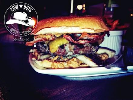 Burger essen wie ein Cowboy | Der Cowboys Burger Saloon kommt nach Wuppertal - Pretasting