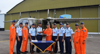 Casa A-2108 Skadron Udara 4 Lanud Abdurahman Saleh