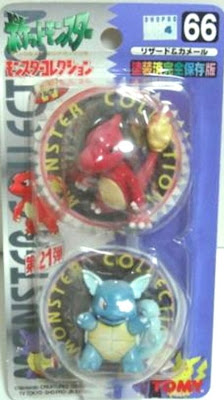 Wartortle Pokemon figure Tomy Monster Collection series