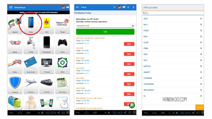 Review bebasBayar dan Pengalaman BebasBayar, aplikasi bayar tagihan lewat smartphone