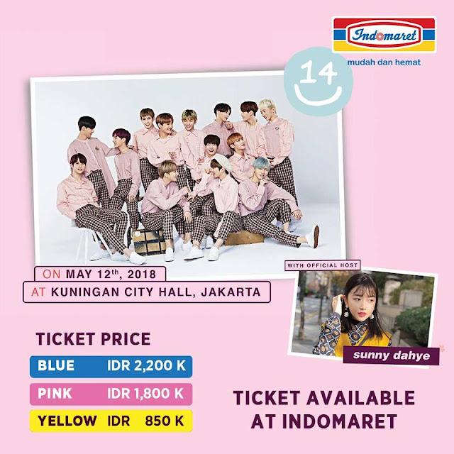"Konser "" 14 U "" 12 May 2018 di Kuningan City Hall, Jakarta"
