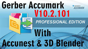 Gerber Accumark 10.2 With Accunest And 3D Blender Perfect