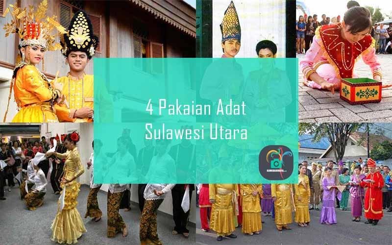 Inilah 4 Pakaian Adat Dari Provinsi Sulawesi Utara
