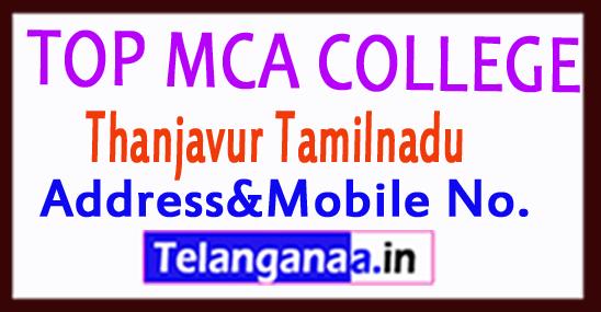 Top MCA Colleges in Thanjavur Tamilnadu