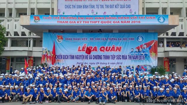 Chiến dịch tình nguyện hè và tiếp sức mùa thi được đông đảo sinh viên hưởng ứng