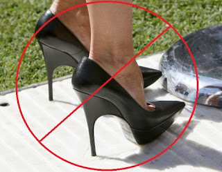¿Es perjudicial usar tacones?