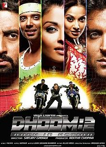 Dhoom 2 is Hrithik Roshan 5th Highest Grossing film of his career, Co-Actress Aishwarya Rai Bachchan