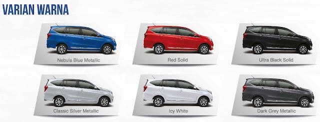 Warna Daihatsu sigra, Warna mobil sigra, Warna sigra, warna mobil daihatsu,