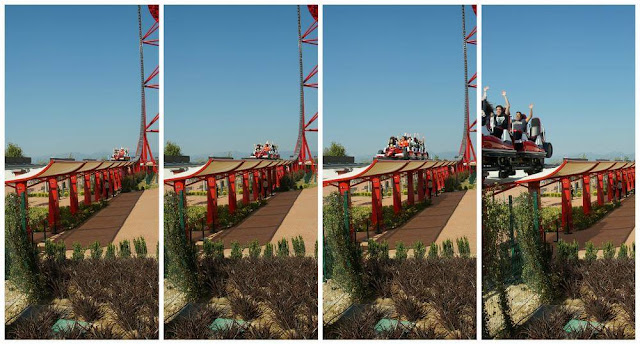 bajada red force de ferrari land