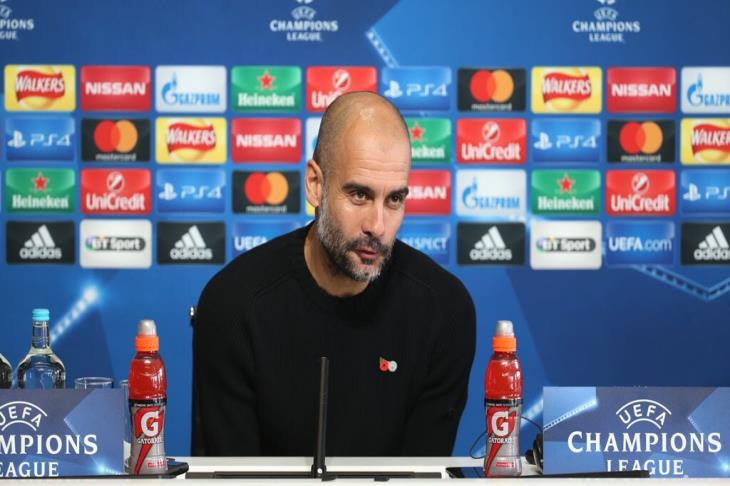 Guardiola talks about .. Draw heroes .. UEFA probes .. and face Swansea Cup