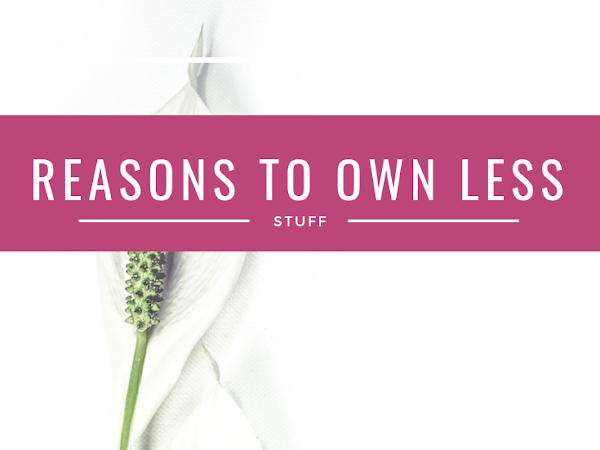 Reasons to Own Less Stuff