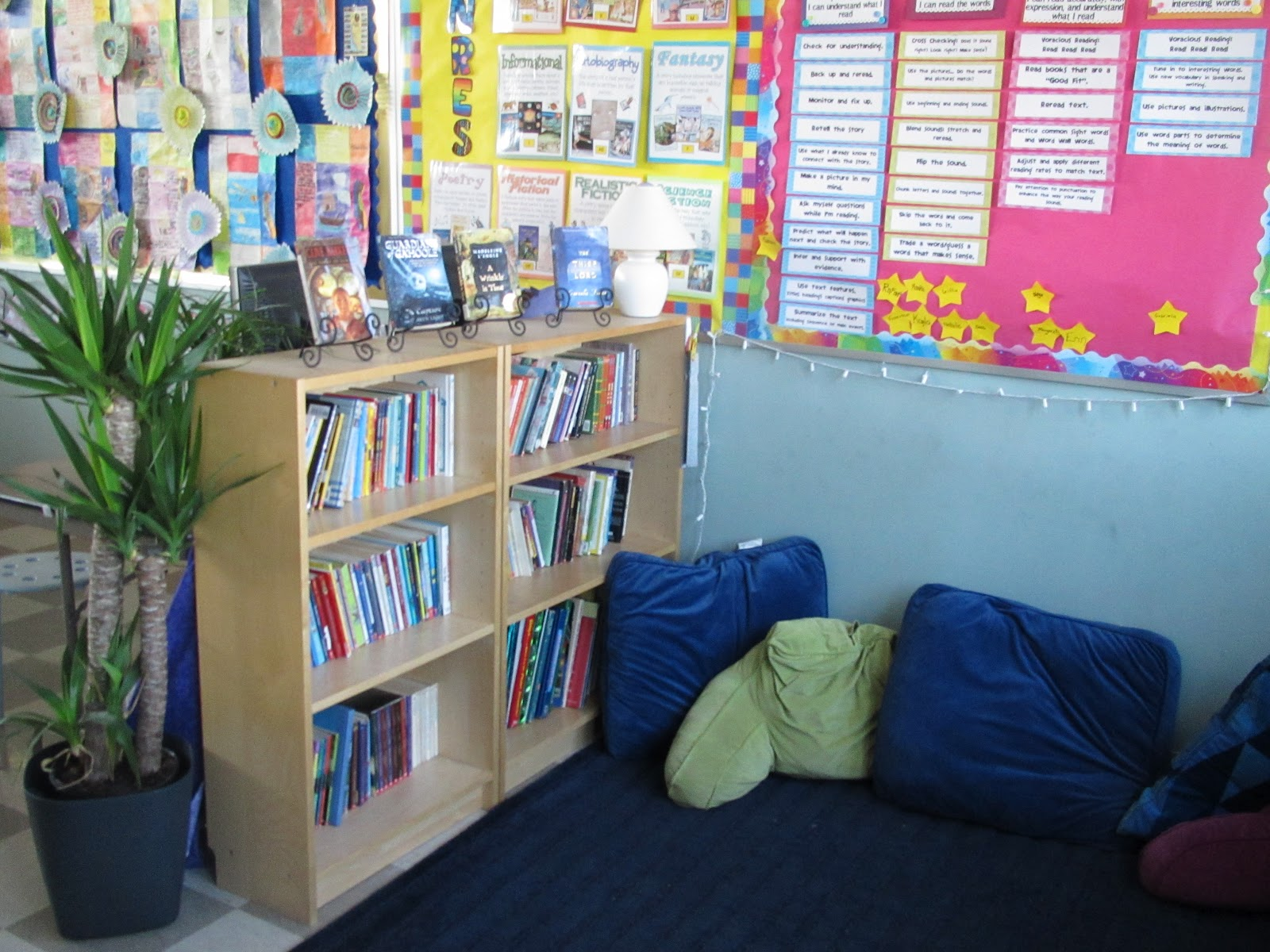 Classroom Library Design ~ My classroom library lessons with laughter