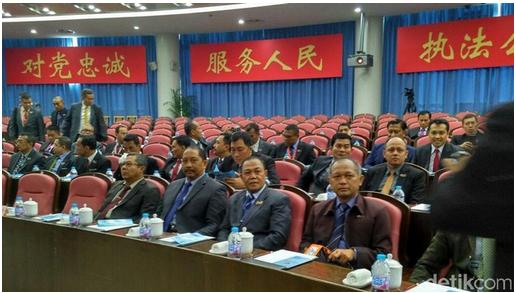 60 Calon Jenderal Sespimti Polri Kuliah Kerja Nyata di China