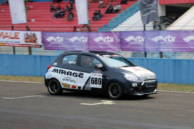 Mitsubishi Mirage Race Car