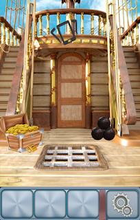 Замок сундука разбиваем ядром на 2 уровне