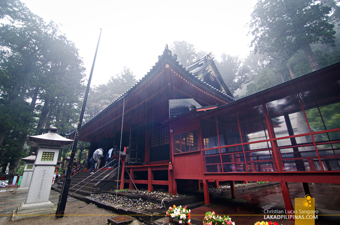 Nikko Temple Run Futarasan Shrine Prayer Hall