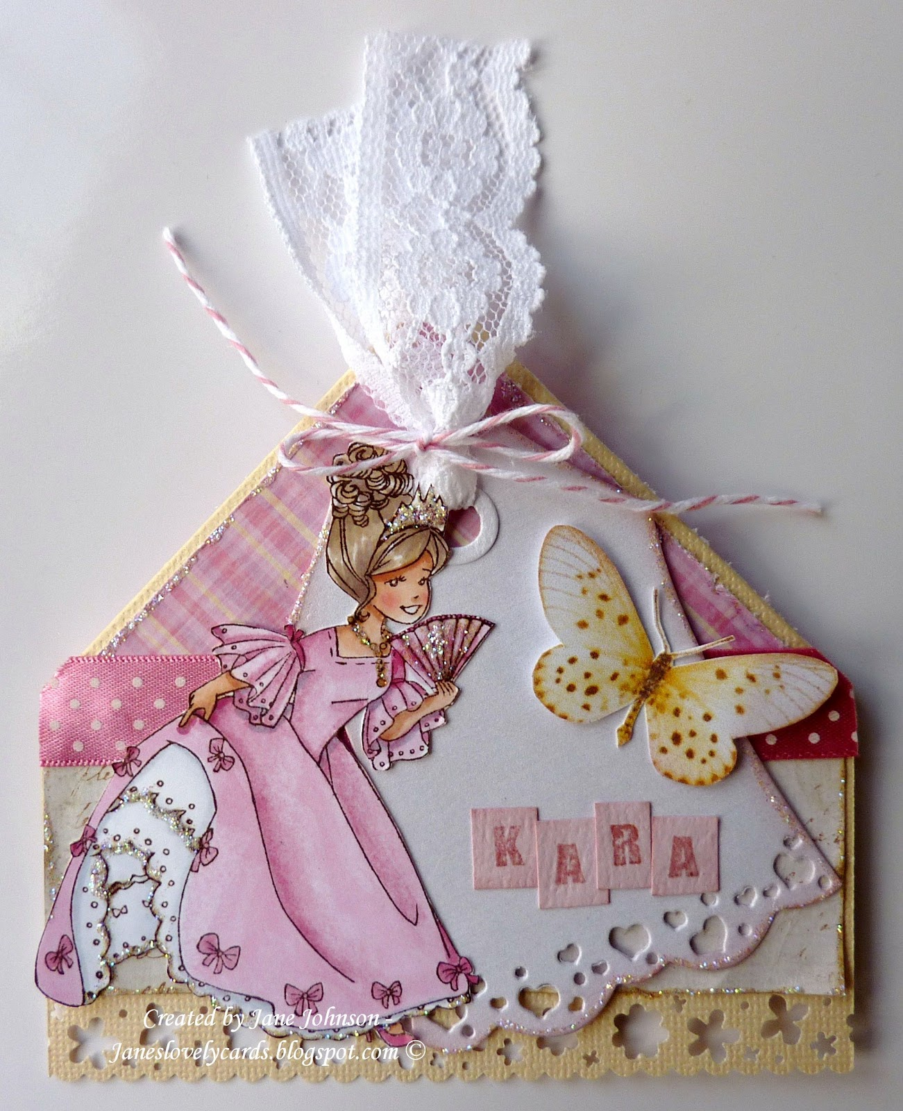 ff4e134f7 Jane s Lovely Cards   Whiff of Joy DT - A Bookmark Fit For a Princess