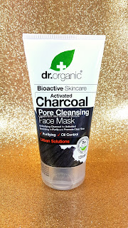 Dr.Organic - Maschera viso purificante al Carbone attivo (Activated Charcoal Pore cleansing Face mask)