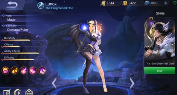 Lunox Mobile Legends, The Enlightened One Guide