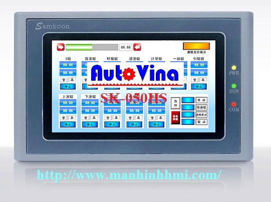 Đại lý bán màn hình cảm ứng 5'' inch HMI Samkoon SK-050HS