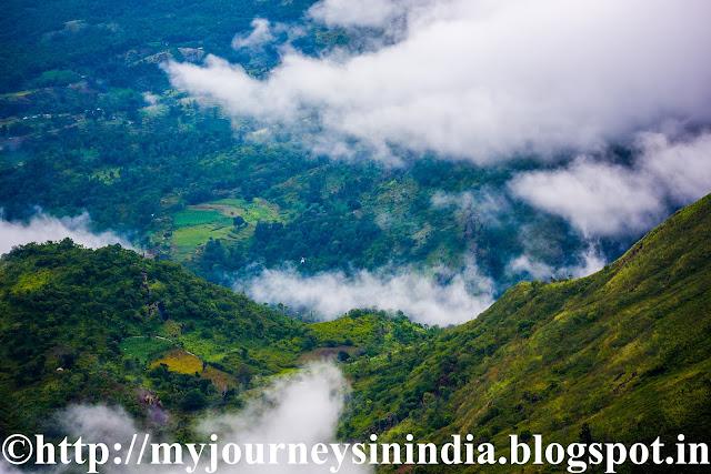 View from Palani View Point Kodaikanal