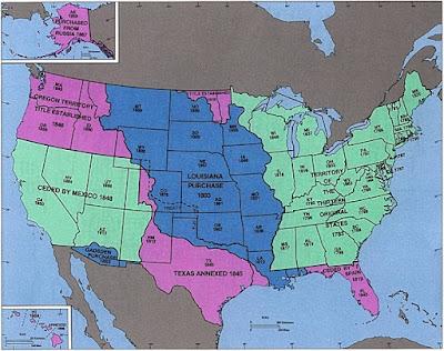 Pembentukan Daerah Koloni Amerika Utara - berbagaireviews.com