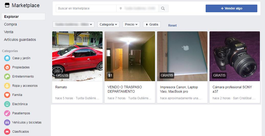 Compra y vende cosas en Marketplace, la tienda de Facebook - El Blog de HiiARA