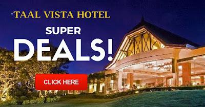 Taal Vista Hotel Promo 2016, Taal Vista Hotel