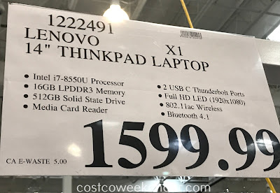 Deal for the Lenovo ThinkPad X1 Carbon 14