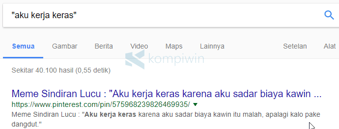tips trik google