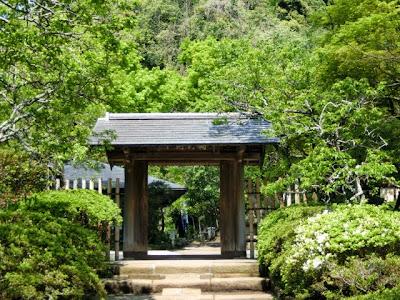 浄智寺の新緑