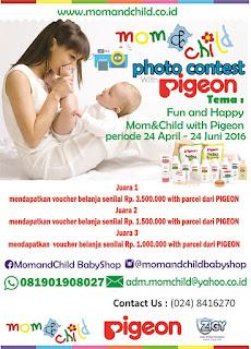 Lomba Foto Pigeon dan Momandchildbabyshop Semarang
