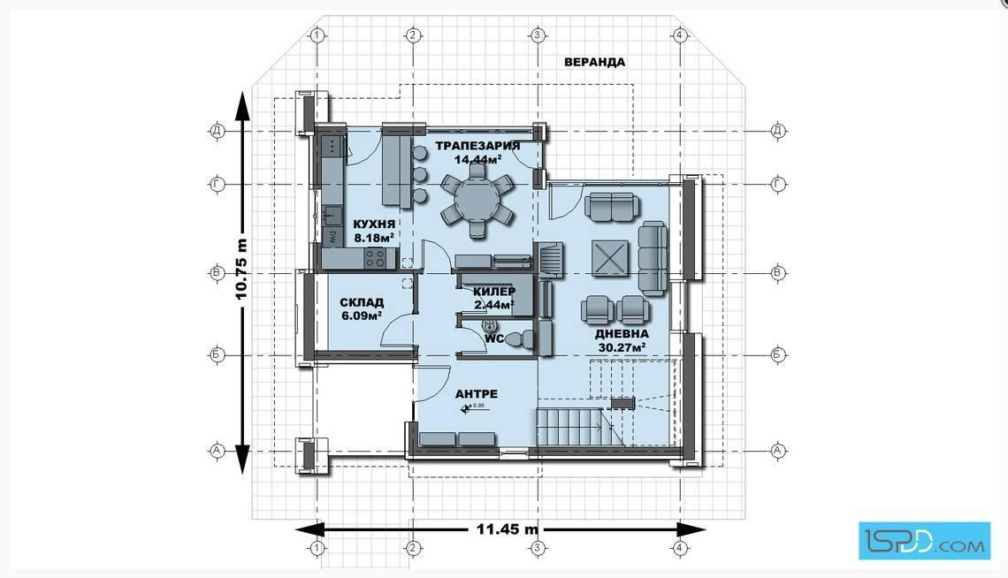 Regular House With Irregular Architecture Design Decor Units