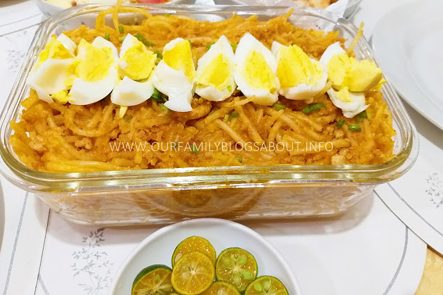 noodles, noodles recipe, Pancit Malabon, pancit, pancit recipe, recipe, homecooking, homecooked meals,