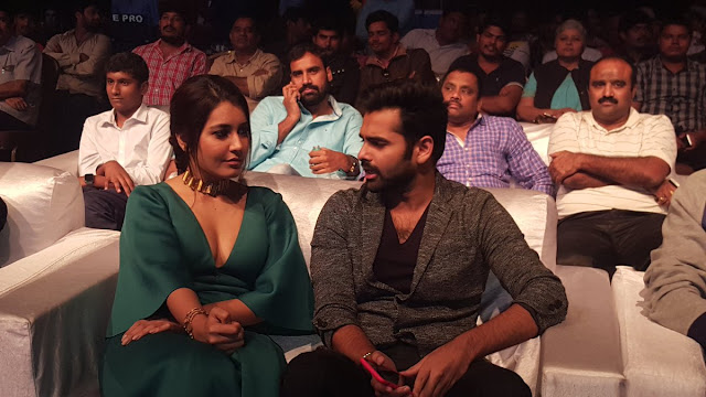 Raashi Khanna Hot Stills Hyper Audio Launch